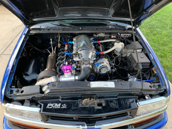 1999 Chevy S10 with a Turbo 6.0 L LSx V8