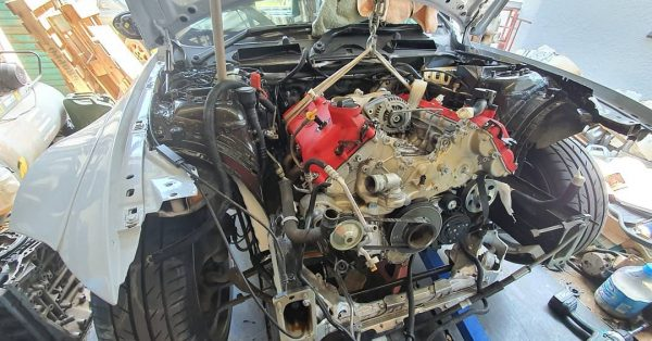 BMW E93 M3 with a Ferrari V8