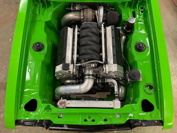 Ford Capri with a Turbo BMW V8
