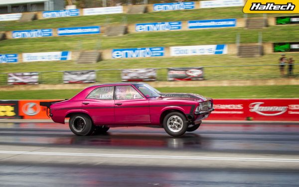 Ford Cortina with a Twin-Turbo 390 ci V8