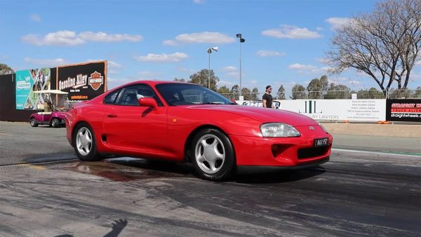 Supra Mk4 with a Turbo 1UZ V8