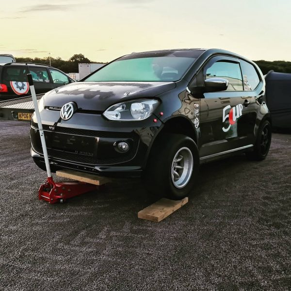 Volkswagen Up with a 2.3 L VR5
