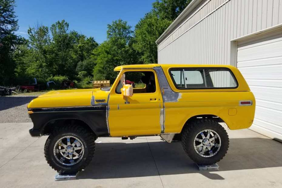 1979 Bronco with a Supercharged Coyote V8