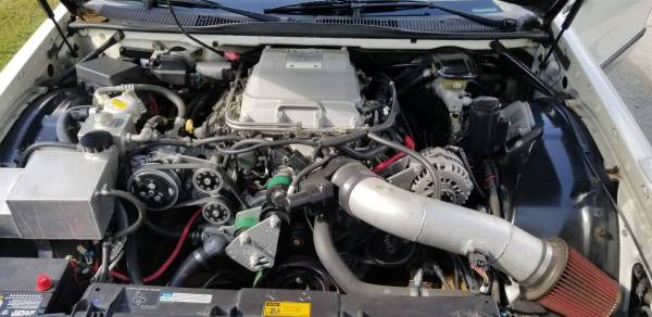 1996 Cadillac Fleetwood with a Supercharged LSA V8