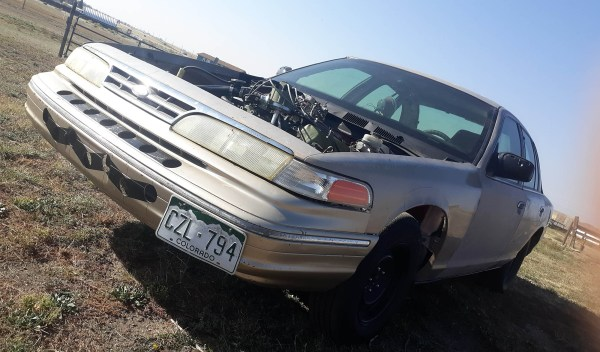 1996 Crown Victoria with a 460 ci Ford big-block V8