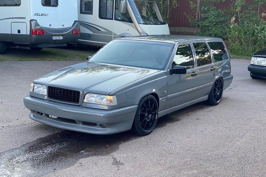 RWD Volvo 850 wagon with a BMW S65 V8