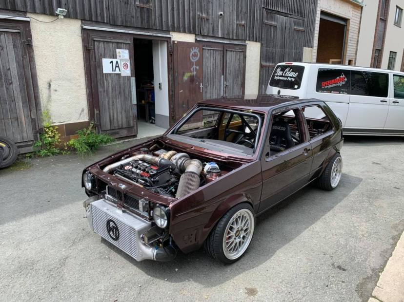 Turbosektor-Ost Golf Mk2 with a Turbo VR6