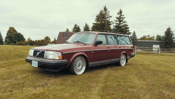 Volvo 240 Wagon with a 2JZ-GTE inline-six