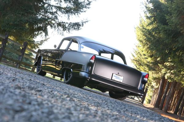 1955 Chevy with a supercharged 427 LSx V8