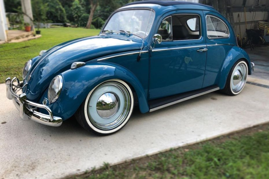 1963 Beetle with a Subaru Turbo EJ25 flat-four