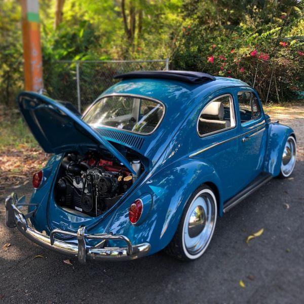 1963 Beetle with a Subaru Turbo EJ25 flat-four