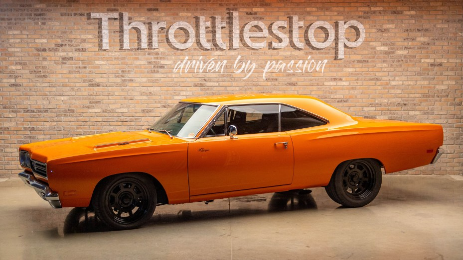 1969 Plymouth Road Runner with a Hellcat Supercharged V8