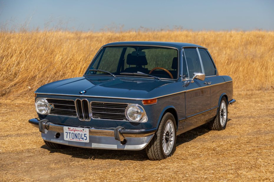 1973 BMW 2002 with a 1.8 L M42 Inline-Four