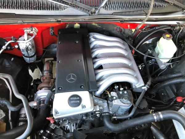 2002 Silverado with a Mercedes OM606 turbo diesel inline-six