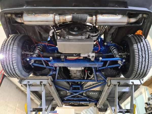 DeLorean with a LSx V8