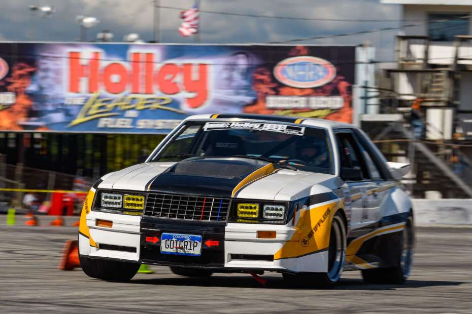 Mike Trenkle and Kelly Jaeger's 1982 Mustang with a 363 Windsor V8
