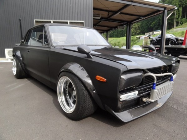Nissan Skyline KGC10 with a RB26DE inline-six