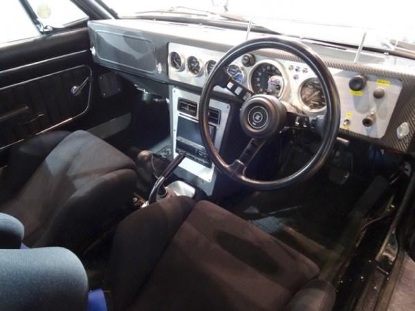 Nissan Skyline KGC10 with a RB26DE inline-six