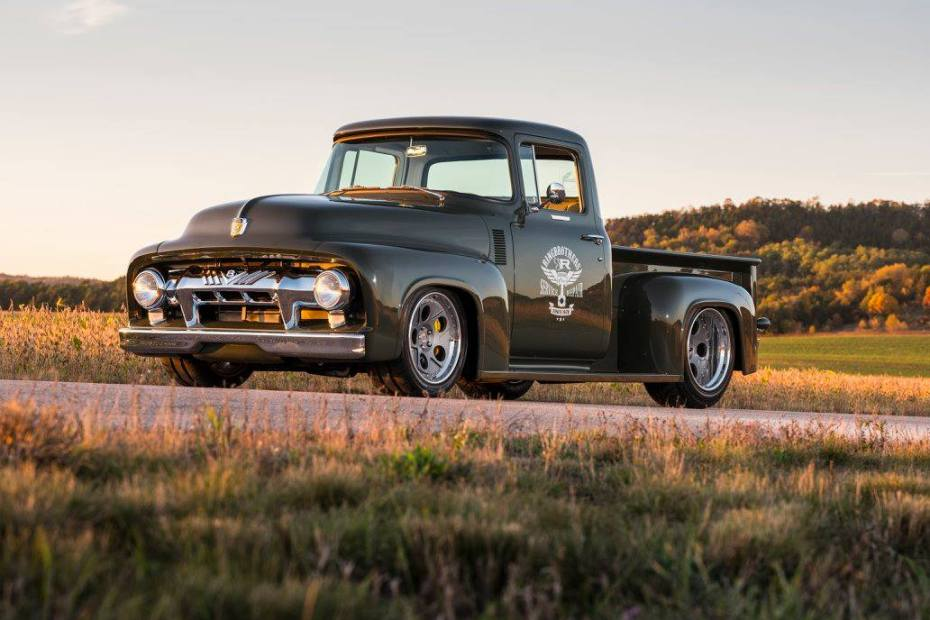 1956 Ford F100 with a Coyote V8