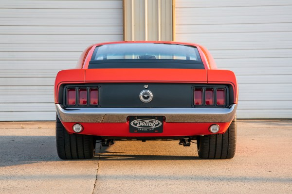 1970 Boss 302 Mustang with an Accufab Modular V8