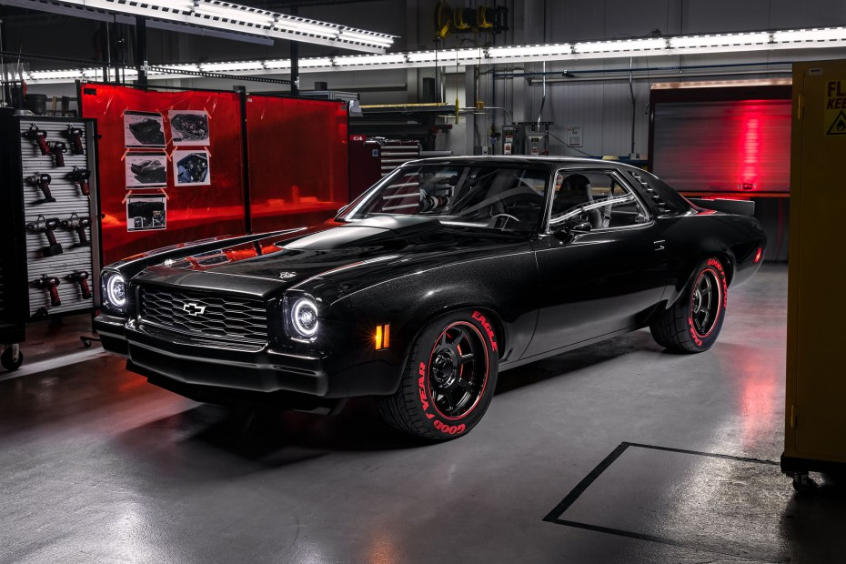 1973 Chevelle Laguna with a Supercharged LT5 V8