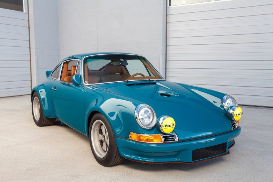 1975 Porsche 911 with a twin-turbo 3.8 L flat-six