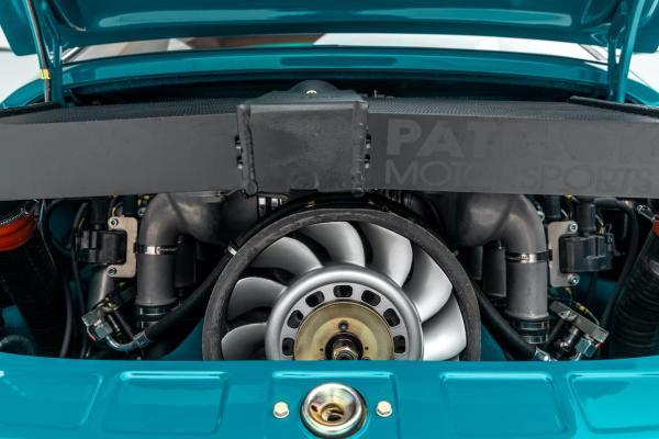 1975 Porsche 911 with a twin-turbo 3.8 L flat-six