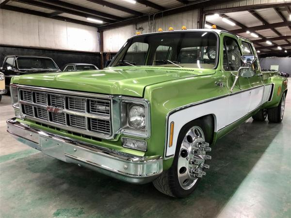 1978 GMC 3500 crew cab with a Cummins 6BT inline-six