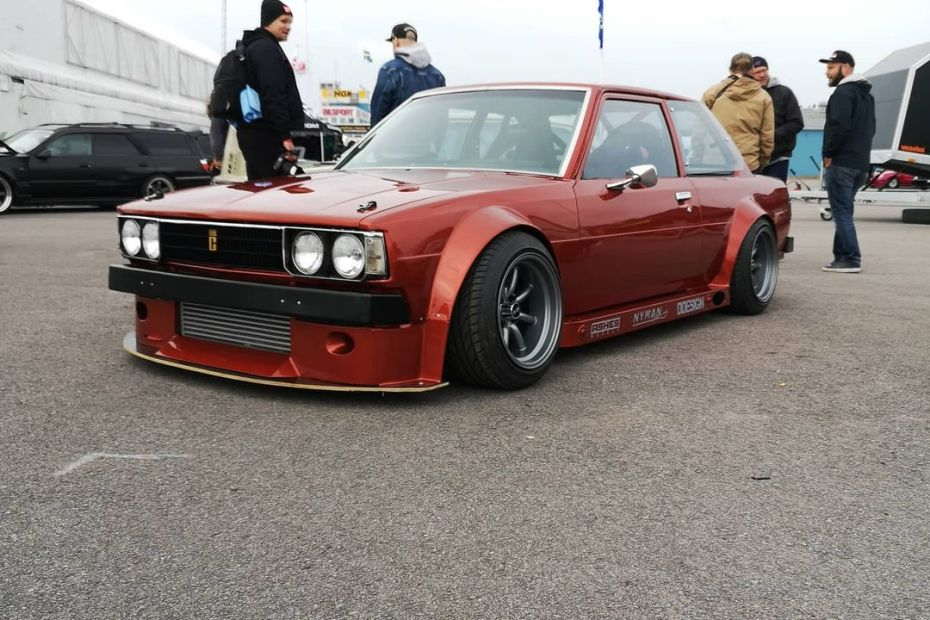 1982 Corolla with a turbo SR20DET inline-four