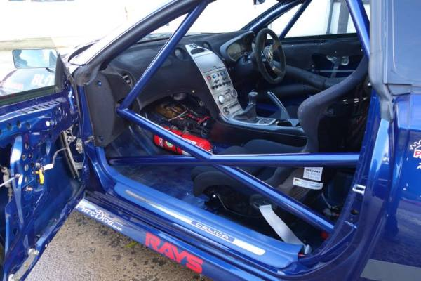 4WD Toyota Celica with a turbo 3S-GTE inline-four