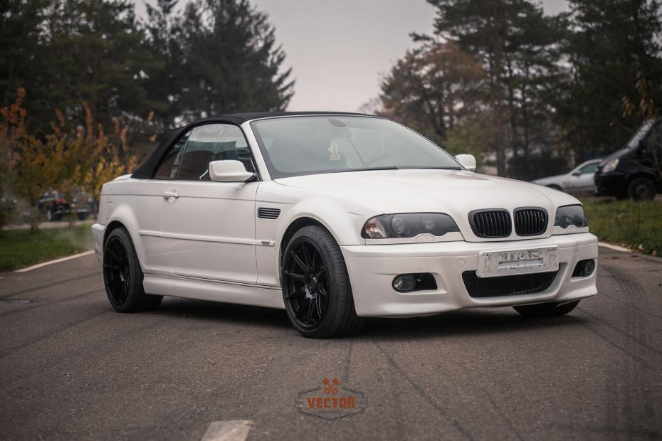 AWD BMW E46 with a Supercharged M62 V8