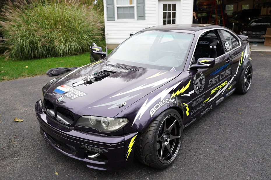 BMW E46 with a Twin-Turbo Ecoboost V6