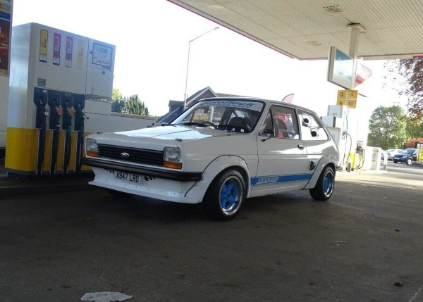 Ford Fiesta with a mid-engine turbo ST170 inline-four