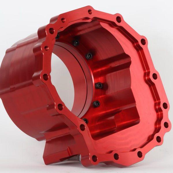 LOJ Conversions' Nissan TX15B Transfer Case Adapter to 6L80E transmission