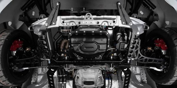 Paweł Grosz's Subaru BRZ with a turbo 2JZ inline-six
