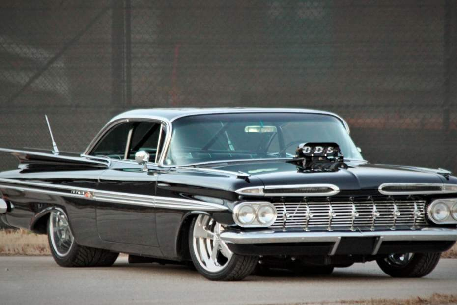 1959 Impala with a Supercharged 502 ci Big-Block V8