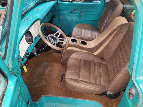 1964 Ford truck with a Coyote V8