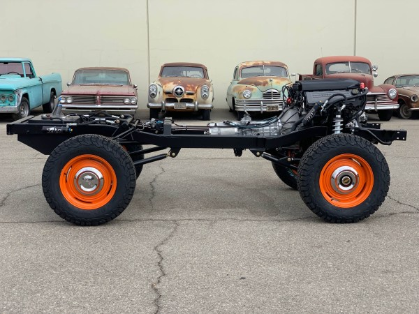 1966 Bronco with a Coyote V8