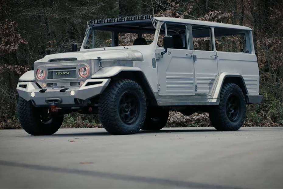 1966 Toyota FJ45 on a Lexus GX 460 chassis