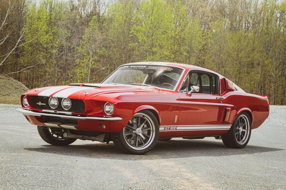 1967 Mustang with a Jon Kaase 527 ci Boss Nine V8