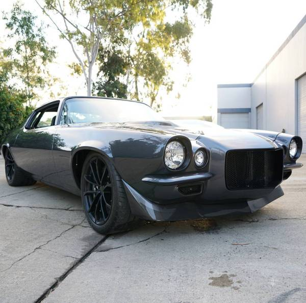 1970 Camaro with a Supercharged LS9 V8