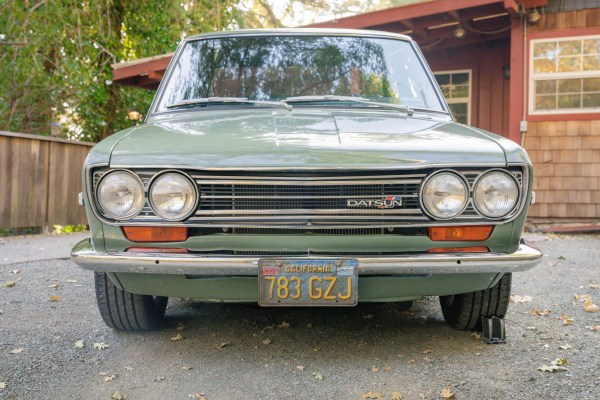 1972 Datsun 510 with a L18 inline-four