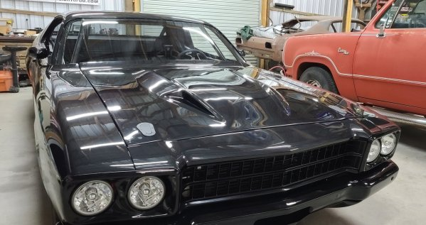 1973 Satellite with a Supercharged Hemi V8