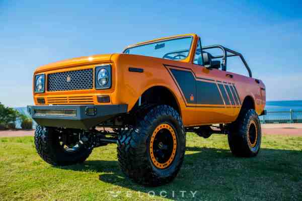 1979 International Scout with a LS3 V8