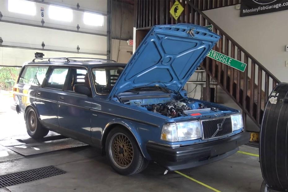 1988 Volvo Wagon with a Turbo 3800 V6