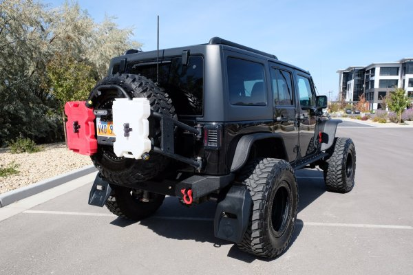 2016 Jeep Wrangler with a Supercharged LS3 V8