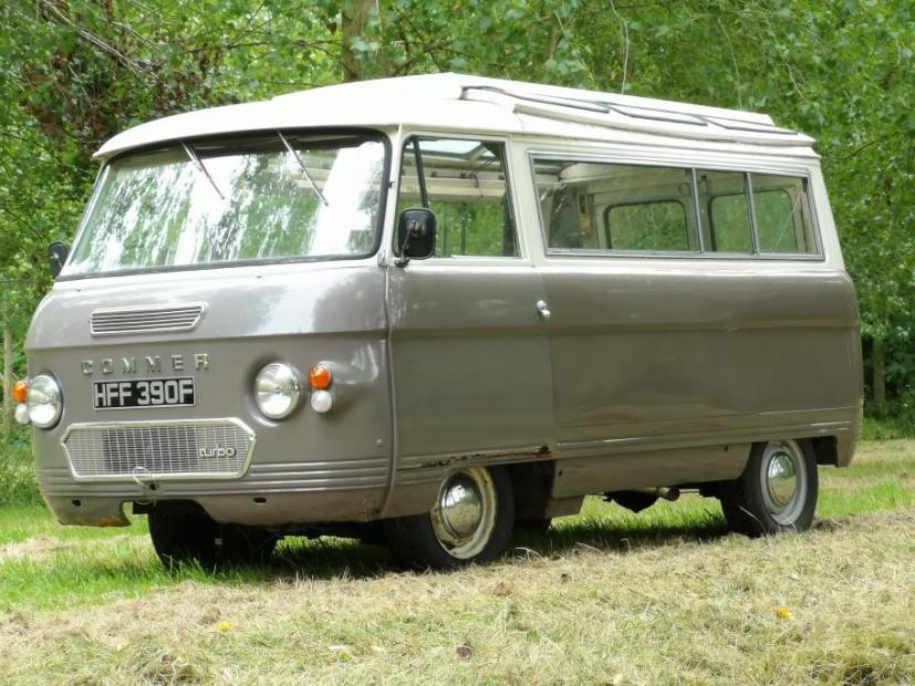 Commer Van with a turbo Saab B234 inline-four