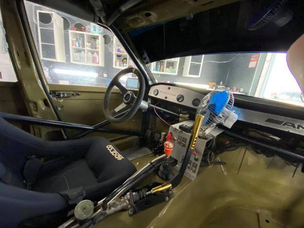 Mercedes 190E with a M119 V8