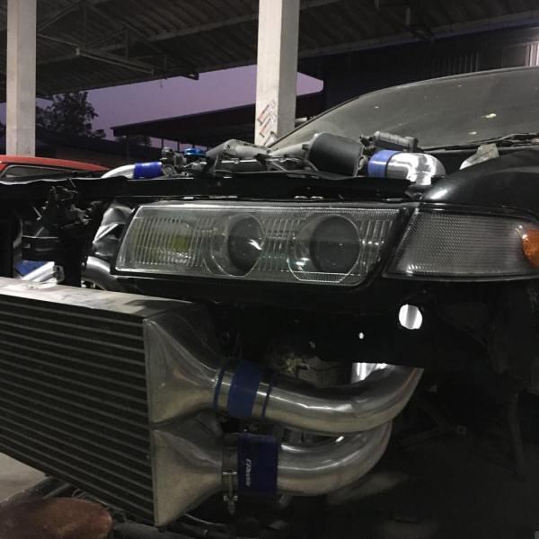 Nissan Cefiro with a VR38DETT V6