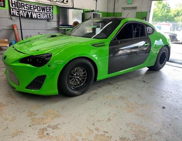 Pure Automotive Scion FR-S with a turbo 2JZ inline-six